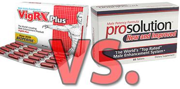 vigrx vs prosolution